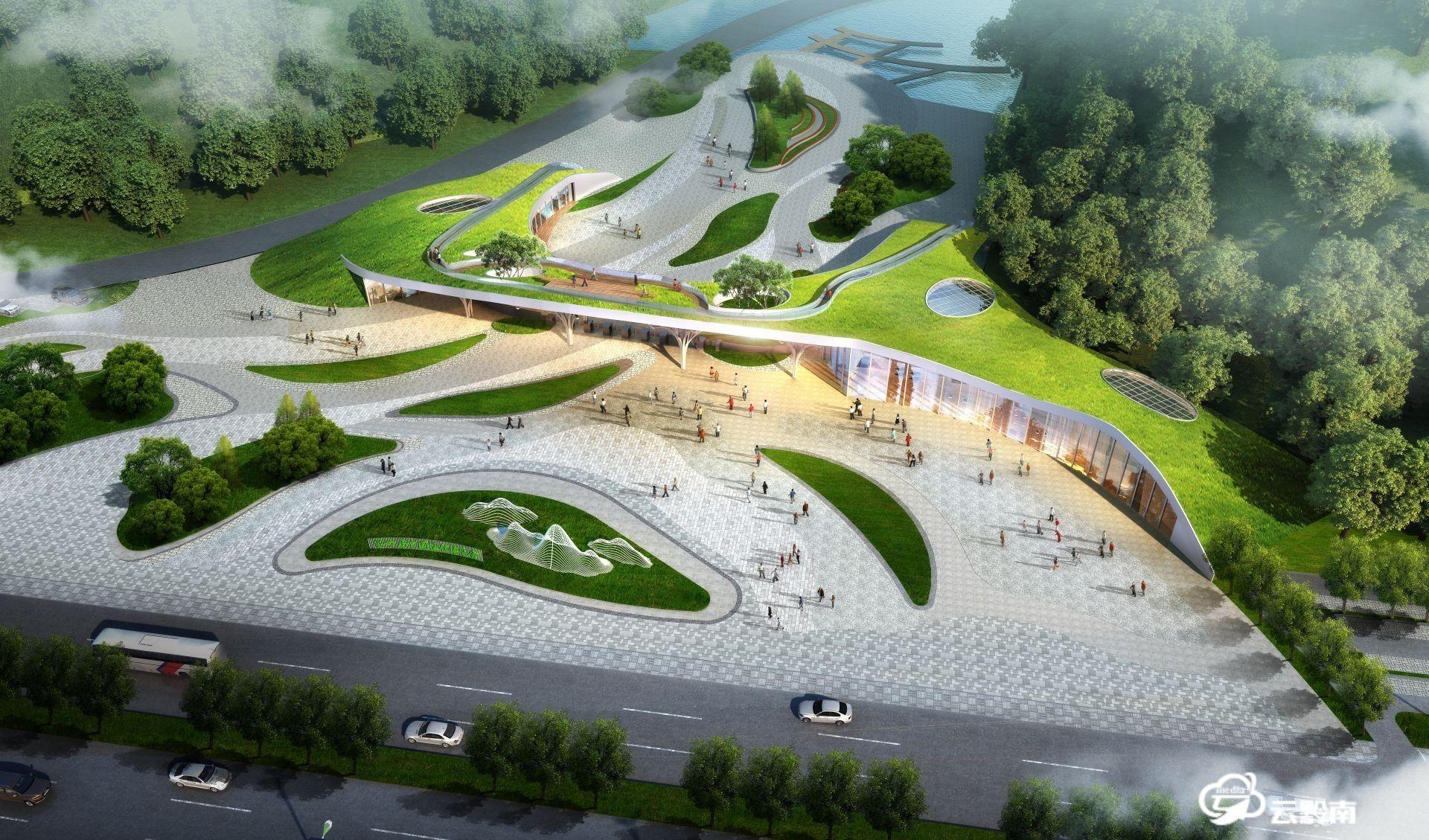 【綠博園建設進行時】我州扎實推進綠博園各主入口建設