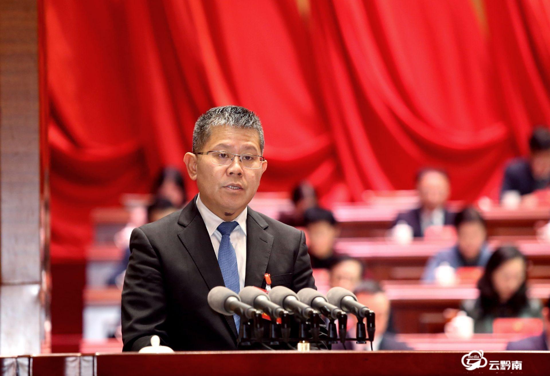 唐德智在政协黔南州十二届五次会议开幕式上的讲话(原文)