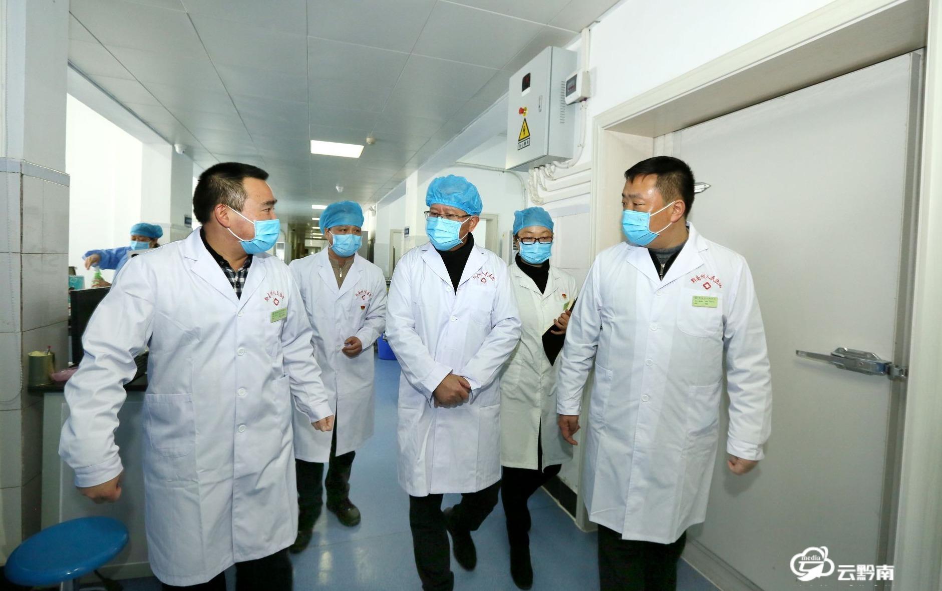 唐德智到医疗机构、疾控部门检查调研新型冠状病毒感染的肺炎疫情防控核酸检测工作