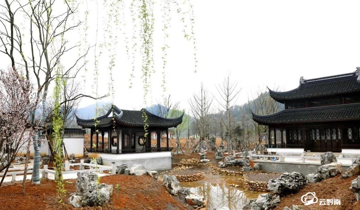 【綠博園建設進行時】為綠博園作出黔南人的貢獻——江蘇展園女工唐云的堅守