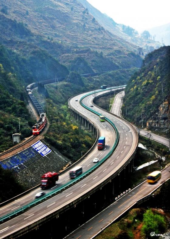 高速公路风光