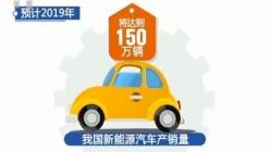 高速增长!2019年中国新能源汽车产销量将达150万辆