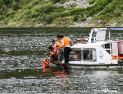 龍里洗馬:水上救援演練  提升應急能力