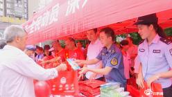 獨山舉行國際禁毒日集中宣傳教育活動
