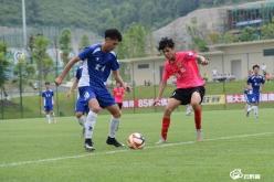 2019全國青少年超級聯賽U17組第七輪在都勻足球小鎮開賽