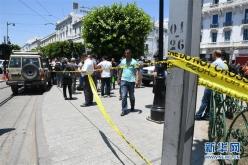 突尼斯首都發生兩起自殺爆炸襲擊造成十余人死傷