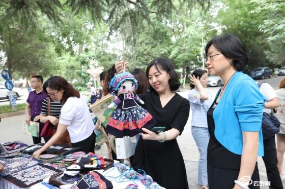 ?黔南風物好花紅非遺產品北京受追捧