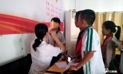 黔南州婦幼保健院眼保健走進校園