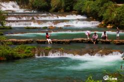 荔波68級跌水瀑布入圍全國瀑布景區口碑好評榜