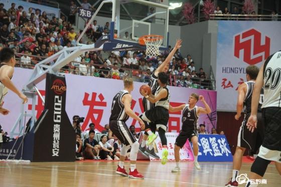 2019中國·甕安國際男籃巔峰爭霸賽開賽