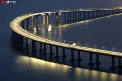 港珠澳大橋開通一周年 致敬大橋建設者