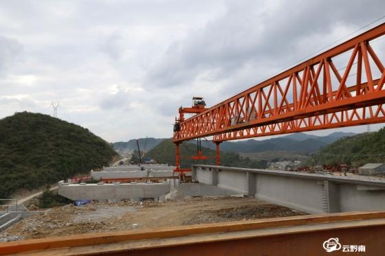 貴黃高速建設有序推進  計劃2021年6月建成通車