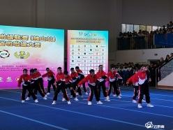 都匀六小参加贵州省啦啦操比赛喜获双金