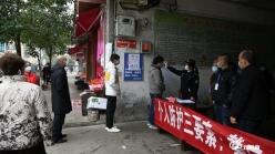 """【众志成城抗疫情】贵定:防控期间 菜市场有多""""严"""""""