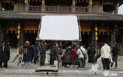 电视剧《千手观音传奇》剧组在都匀秦汉影视城开机复工