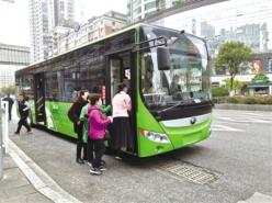 涼都60輛新能源純電動公交車正式上線運營