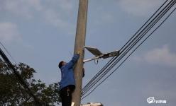 都勻:太陽能路燈照亮鄉村幸福生活