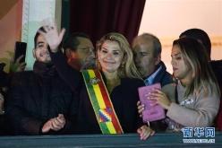 简讯:玻利维亚临时总统阿涅斯新冠病毒检测呈阳性
