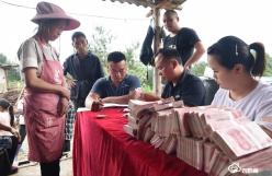 龍里油茶基地為農民工兌現75萬元工資