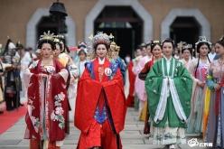 都匀:汉服超模大赛 展示华夏文化