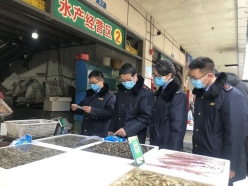 福泉市强化节前市场食品安全和疫情防控工作