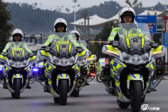 """龙里县精彩活动庆祝首个""""中国人民警察节"""""""