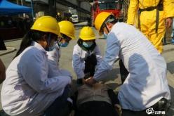 福泉市开展民兵军事训练暨危险化学品事故应急救援演练