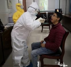 瓮安县人民医院举办核酸采集人员培训