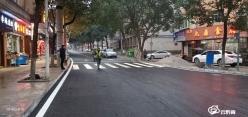 龙里县住建局:升级改造道路  优化人居环境