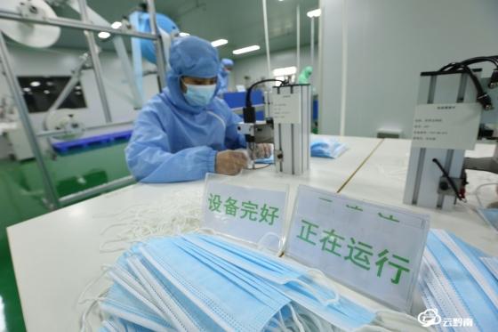 福泉:防护物资生产忙