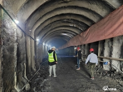 惠水平寨水库工程迅速复工复产