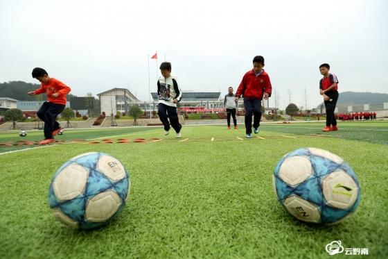 福泉市陆坪中心小学:快乐运动 健康成长