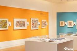 龙里平坡苗族画走进常州市西太湖美术馆和上海玻璃博物馆