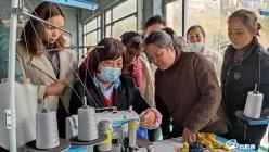 长顺:纺织企业招工忙  缝纫机里踩出新生活