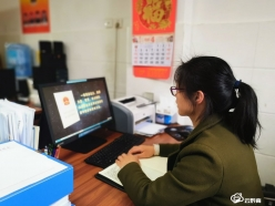 龙里县龙山镇干部接受保密教育培训