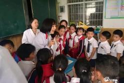"""""""六一"""",龙里县塘堡小学孩子们收到""""健康大礼包"""""""