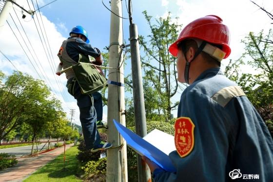 都匀供电局城区分局:加强设备特巡特维 保障居民用电安全