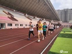 【聚焦州七运会】瓮安代表团积极备战州运会