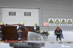 全州钢结构建筑消防安全标准化管理暨灭火救援演练现场会在龙里召开