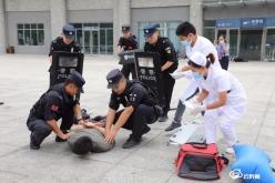 贵定警方:加强反恐演练  构筑安全屏障