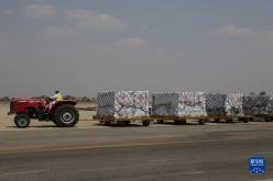 中国援助的第四批新冠疫苗运抵津巴布韦