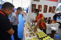 中非经贸博览会:非洲商品琳琅满目