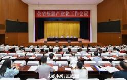 全省旅游产业化工作会议在铜仁召开 谌贻琴作批示