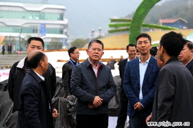 唐德智督查第十二届贵州旅游产业发展大会筹备情况